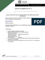 Producto Académico 2 [Entregable]