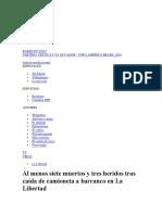 Noticia La Libertad