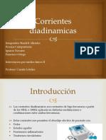 Corrientes Diadinamicas
