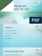 Sarcopenia en Personas UCI Dra. Marcela Arias