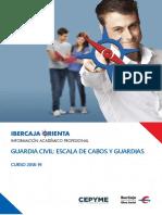 Guía Ibercaja sobre Guardia Civil Escala de Cabos y Guardias