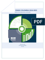 Propuestas Sectoriales 2018-2022 - Síntesis