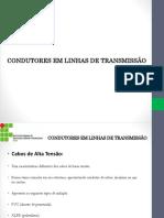 Transmissão de Energia - Condutores Em Linhas de Transmissão