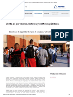 Venta al por menor, hoteles y edificios públicos _ Soluciones de rayos X ADANI.pdf