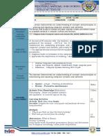 CSS NCII 4rth Quarter lesson Plan LO3 Isolate