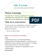 IFLA Web Forms