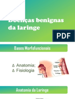 Doenças benignas da Laringe