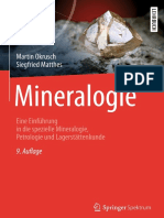 Martin Okrusch, Siegfried Matthes Mineralogie_ Eine Einführung in Die Spezielle Mineralogie, Petrologie Und Lagerstättenkunde-Springer Spektrum