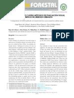 Comparacion de Cuatro Metodos de Evaluacion Visual de Riesgo de Arboles Urbanos