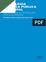 Tecnologia e Gestao Publica MunicipalSANTANA