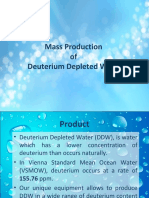 Deuterium Depleted Water Whitepaper