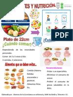 Cartel Diabetes Nutri
