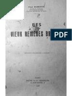 Les Vieux Remedes Bretons