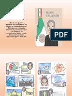 Cómic Felipe Calderón