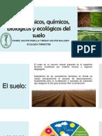 Factores Físicos Químicos Biológicos y Ecológicos del suelo