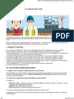 SUNAFIL Regimen Laboral Construccion Civil