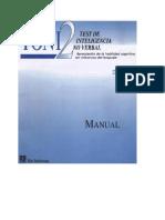 Tony manual 1 y 2