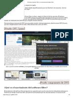 El Sistema Operativo GNU y El Movimiento Del Software Libre