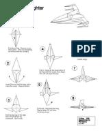 Origami - Star Wars - X-Wing StarFighter[2]