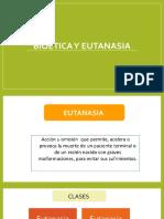 Bioética y Eutanasia