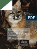 Los carnivoros terrestres y semiacuaticos continentales de Colombia - Suarez, et.al.pdf