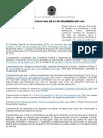 Resolução CFN n° 600-2018 - Área de Atuação do Nutricionista