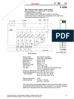 Attch-1F Digital Output Module F3430-e