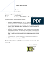 Surat Pernyataan Pt Garam (Persero) Th 2018 Bismillah
