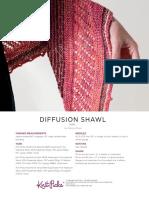 Diffusion Shawl