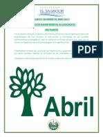 4 Boletin Informativo Abril 2019