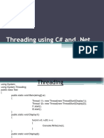 Multithreading in C#
