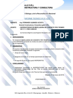 Informe de Inoperatividad de Trompito