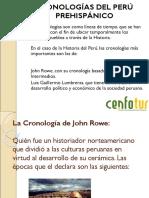 cronologías del Perú Prehispánico