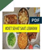 Diet Sehat Saat Lebaran