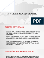3,7 Capital Circulante