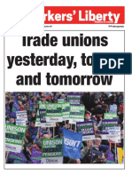 Trade unions yesterday, today, and tomorrow