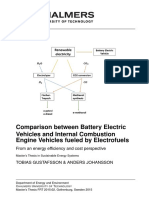 COMPARISON ELECTRIC VS. COMBUSTION