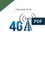 La Technologie de 4G