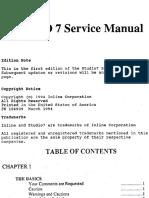 Studio 7 Service Manual Rev1