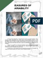 Module in Measures of Variability