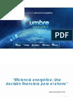 Eficiencia Energética, Una Decisión Financiera Para El Ahorro