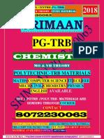Pgtrb Chemistry Unit 1 Study Materials English Medium