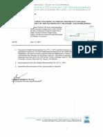 0881 - Division Memorandum No. 120, s. 2019