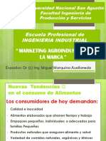Marketing Agroindustrial MARCA Slogan