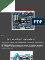 El Motherboard Grupo1-II Btc