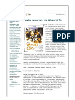 theatre resources  the wizard of oz - alancrombie