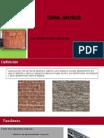 Clase 7 Muros