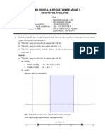 Tugas m4 Kb 3 - Geometri Analitik