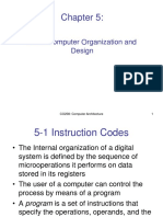 Computer Organisation and Design