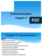 Communication Chapter VI
